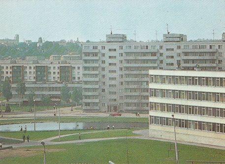 Postkaart Annelinn 1985
